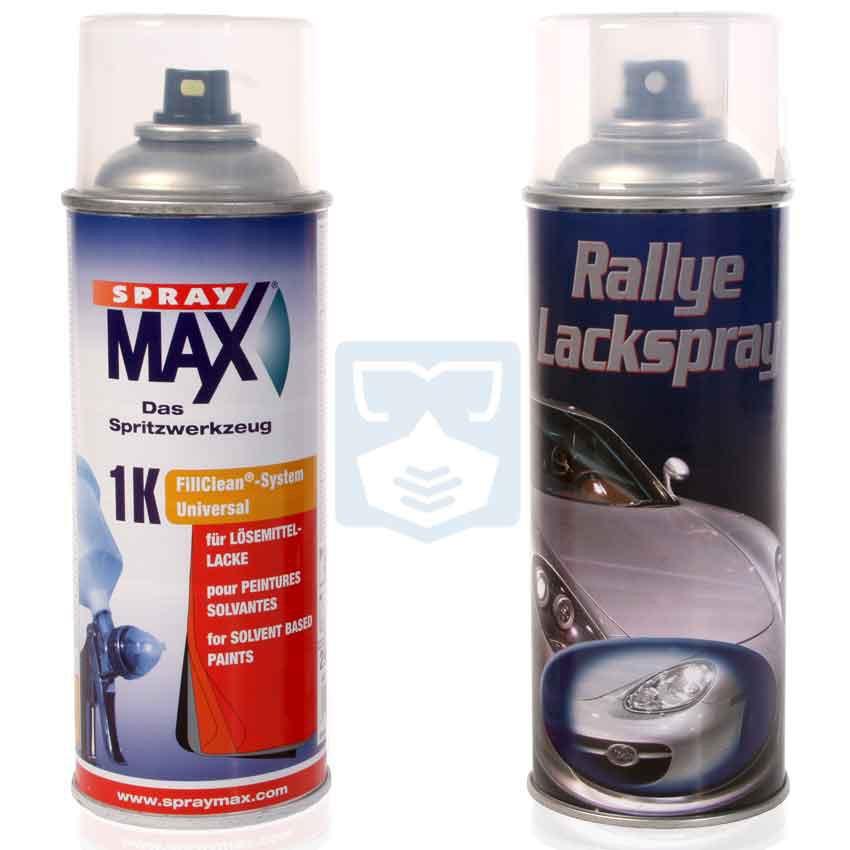 Car Spray Paint Volvo Silver Metalic Blue Code