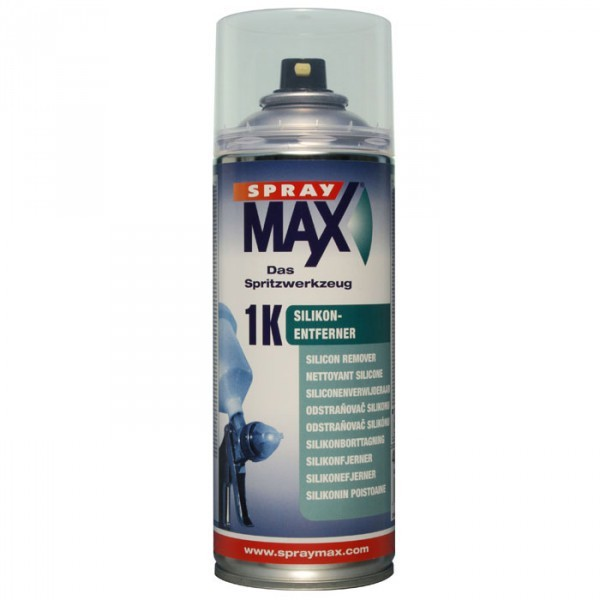SprayMax Silikonentferner transparent Spraydose 400ml Siliconentferner Spray