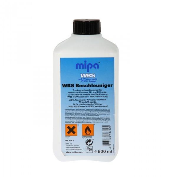 Mipa WBS Beschleuniger Trocknungsbedingungung für 1K 2K Wasserbasislack