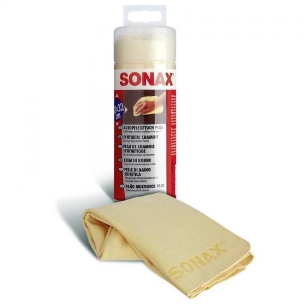 SONAX Autopflege-Tuch Plus extra saugfähig