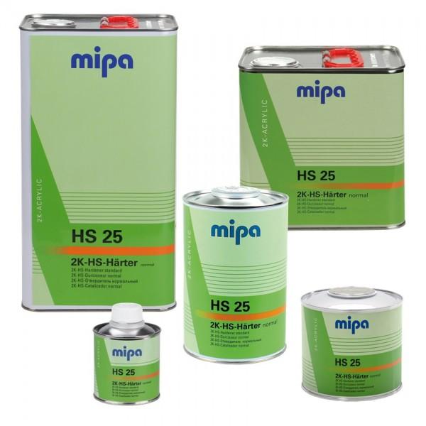 Mipa 2K HS Härter HS25 normal für Acryl PUR Klarlack Autolack