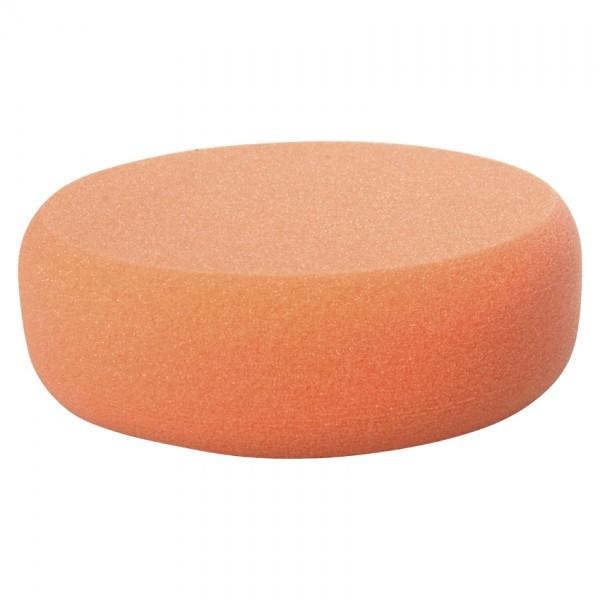 Polierschwamm hart für Schleifpaste orange 123Lack