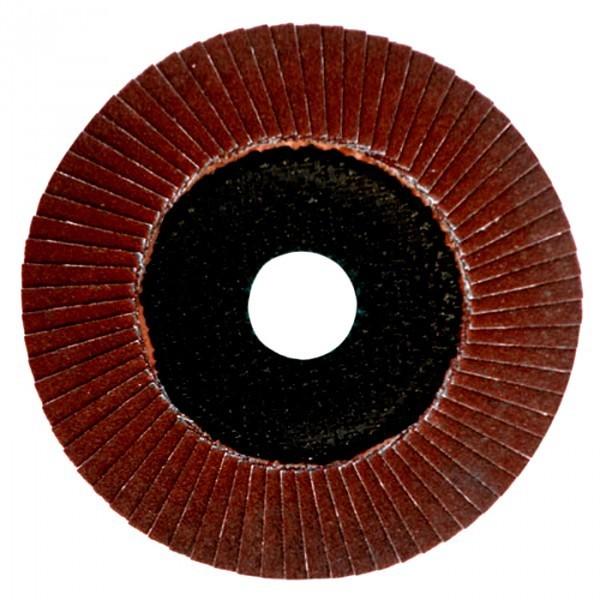 Dronco Fächerschleifscheibe Alox Power PERFECT Fächerscheiben für Eisen und Holz