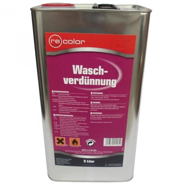 Recolor Waschverdünnung 5L Reinigungsverdünnung