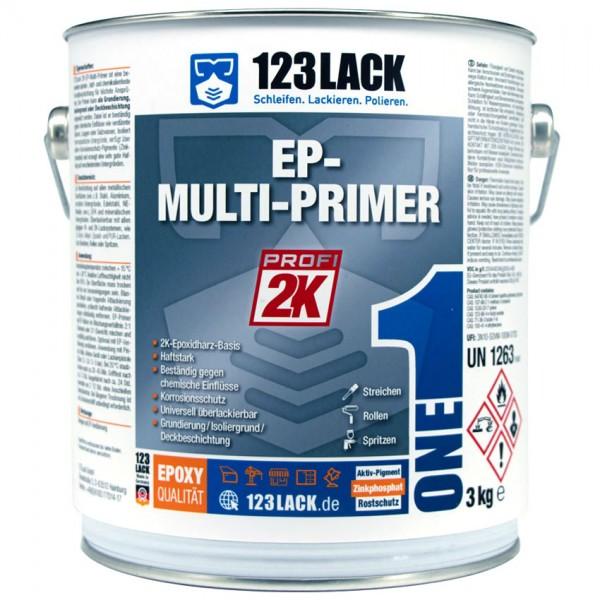 123Lack EP-Multiprimer Grundbeschichtung 3KG