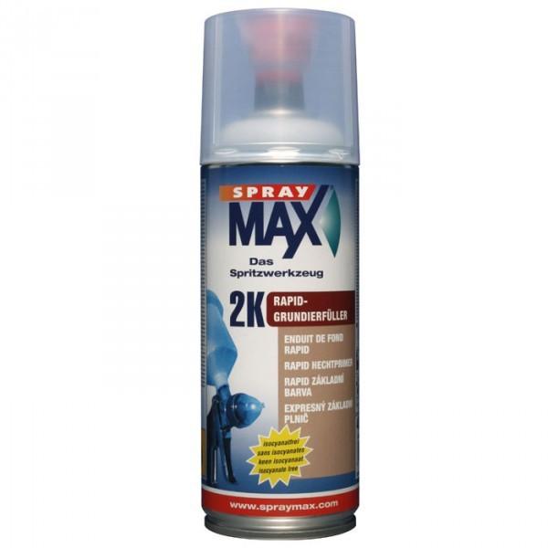 SprayMAX 2K Rapid Grundierfüller Grundierung 400ml Spraydose grau
