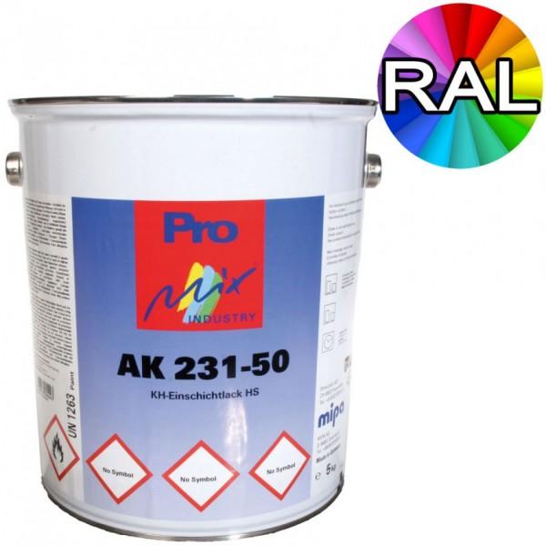 Metallschutzlack 3in1 Mipa AK231-50 seidenglänzend RAL Farben