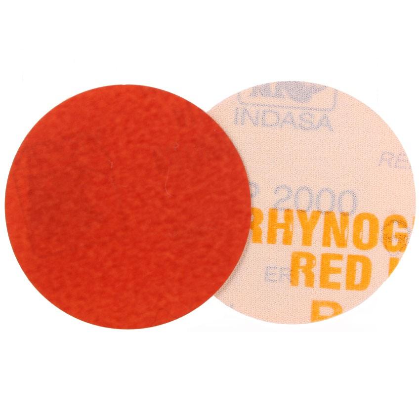 50 x Papierscheiben Klett  Indasa Red Line Scheiben 75 mm ungelocht Korn 1200