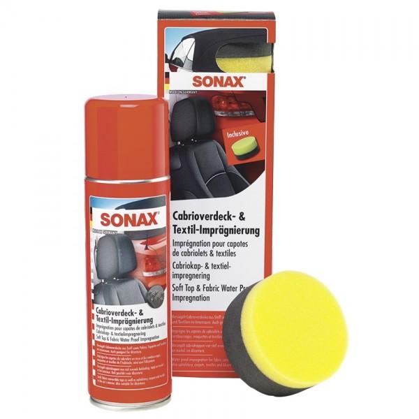 SONAX Cabrioverdeck- u. Textil-Imprägnierung mit Schwamm 300ml