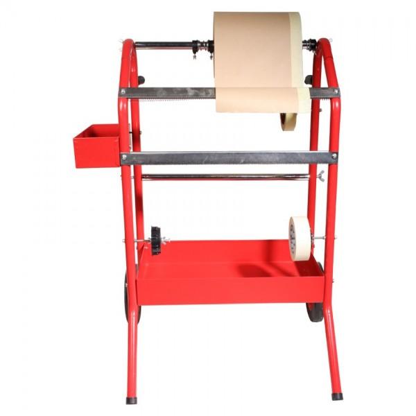 Papierrollen Wagen Ständer Halter klein für Abdeckpapier bis 45cm